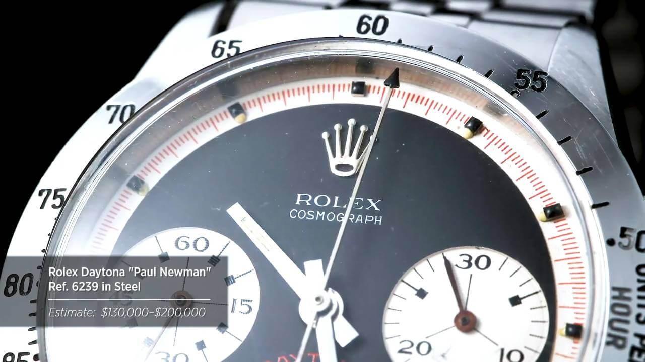 "Fortuna – Auction Highlights – Rolex Daytona ""Paul Newman"""