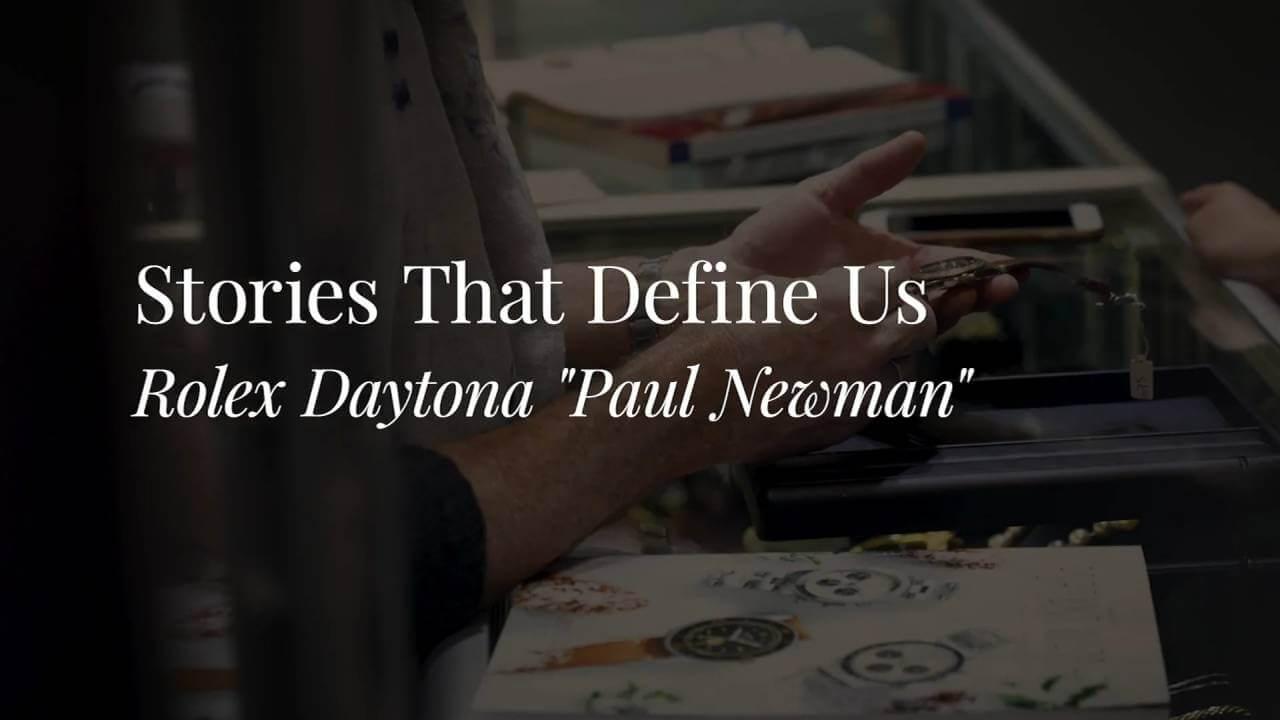 "Fortuna – Stories That Define Us – Rolex Daytona ""Paul Newman"""