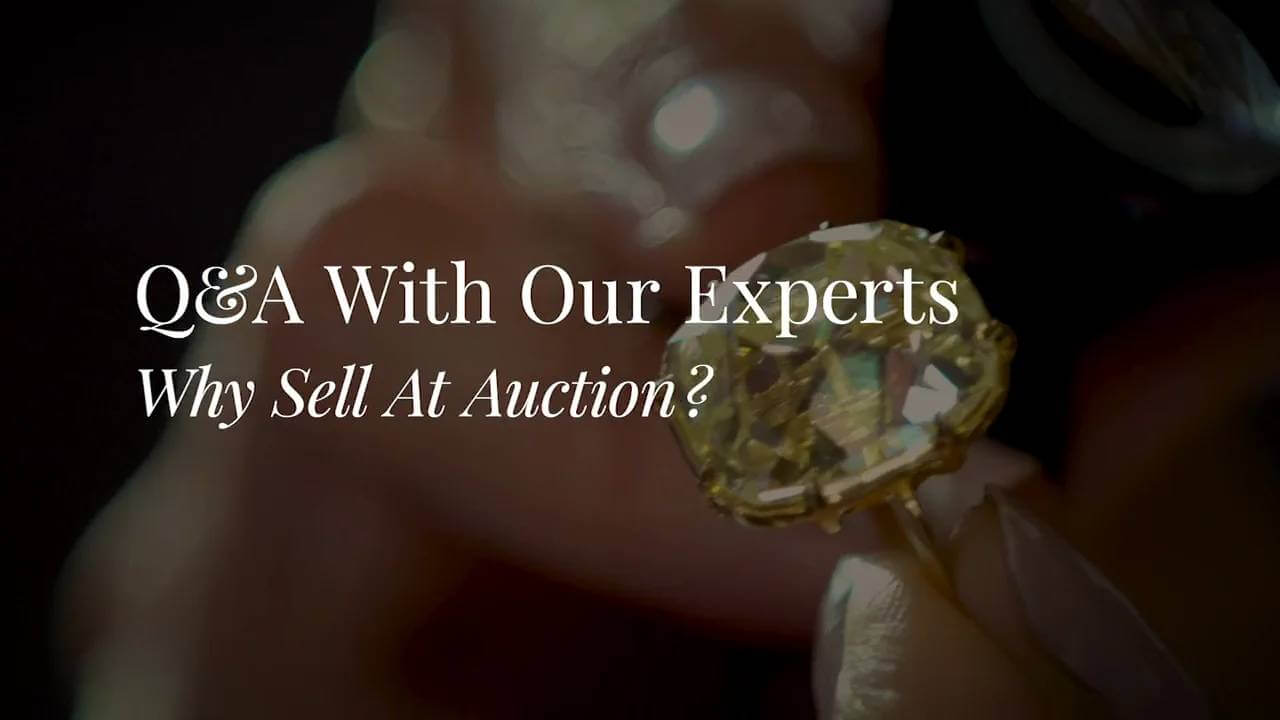 Fortuna – Q&A With Our Experts – Why Sell At Auction?